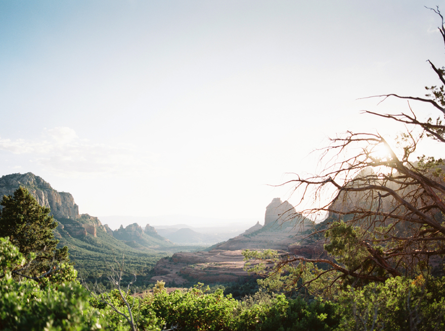 majestic landscape in Sedona, AZ