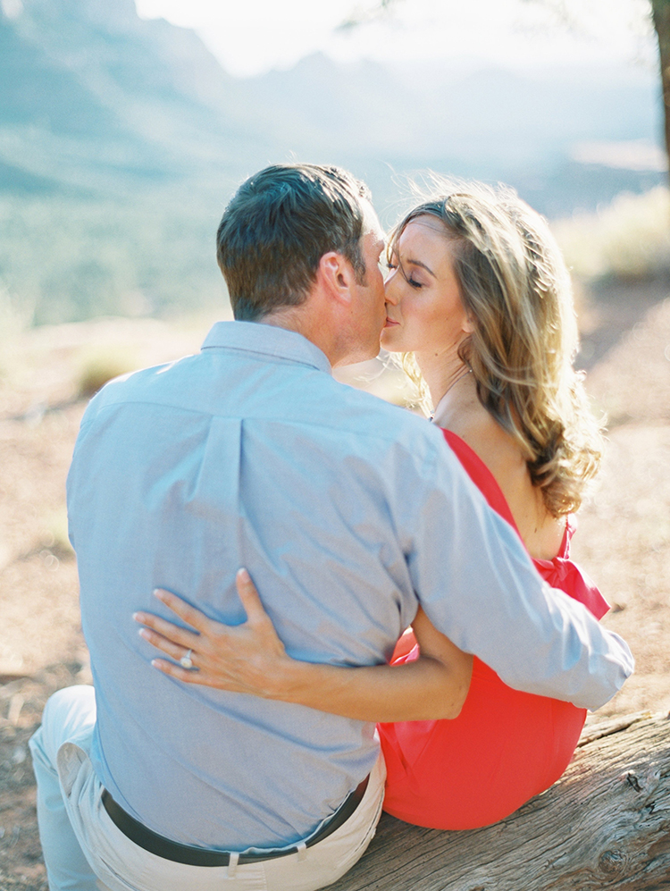 Sedona engagement portraits