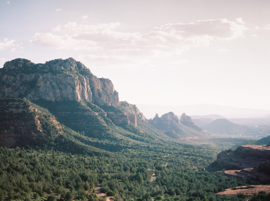 The view from Merry-Go-Round Rock in Sedona