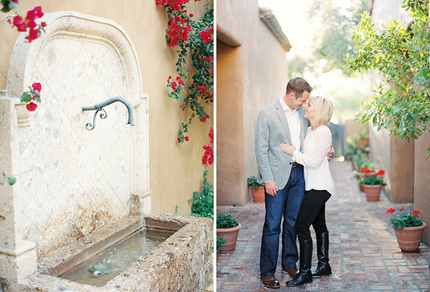 Classy couple enjoy modern photoshoot outside