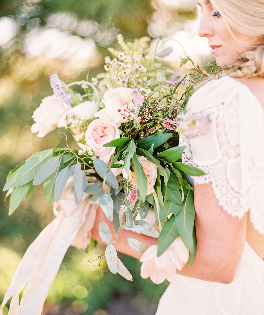 soft and natural bouquet