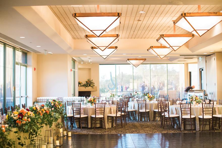 Elegant Reception At Troon North Golf Club
