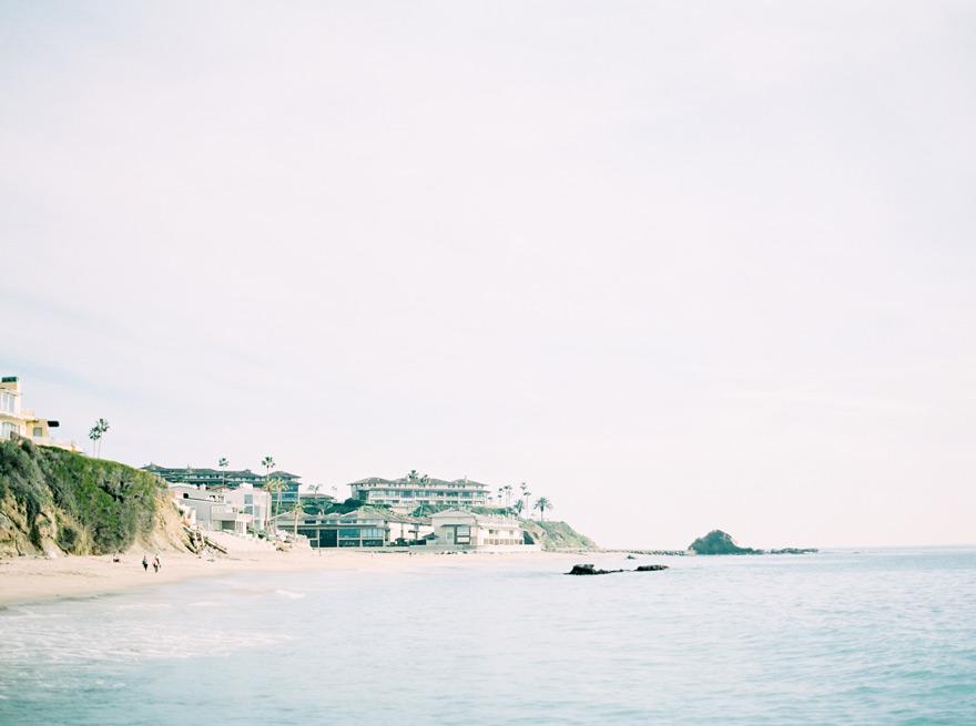 seascape at Victoria Beach in Laguna Beach, CA