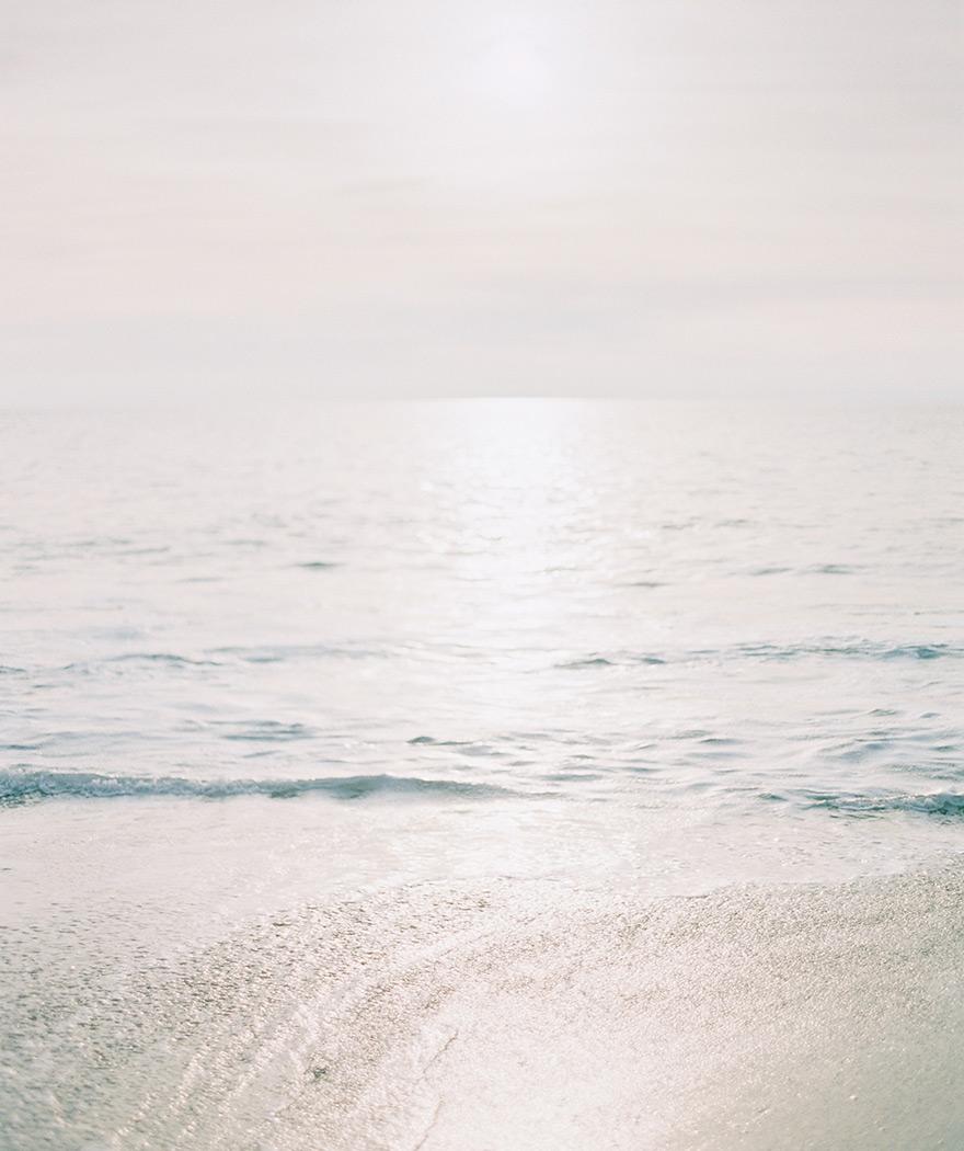 calm ocean at Victoria Beach