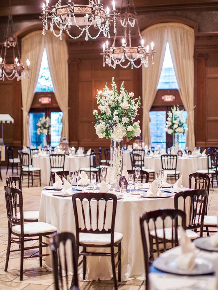Villa Siena wedding reception