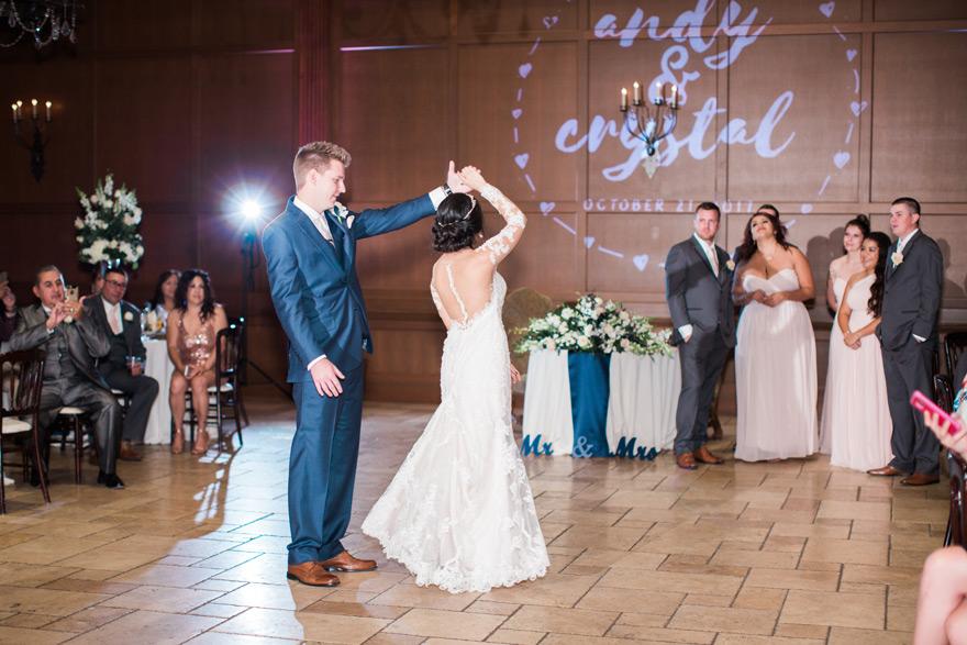 First dance as bride & groom