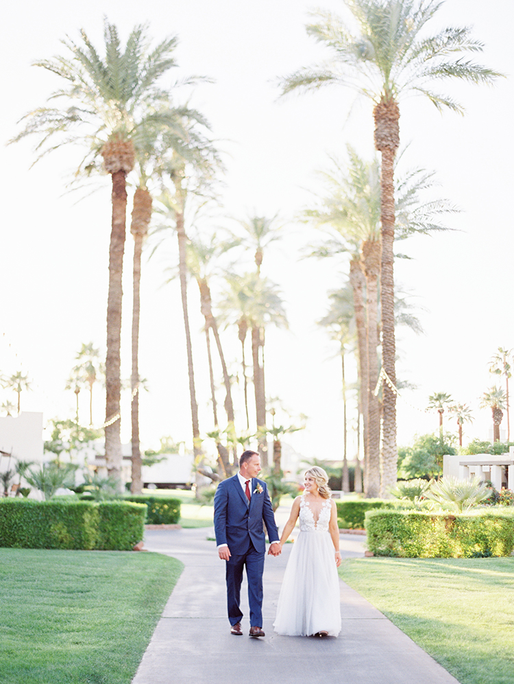 romantic wedding in Phoenix, AZ