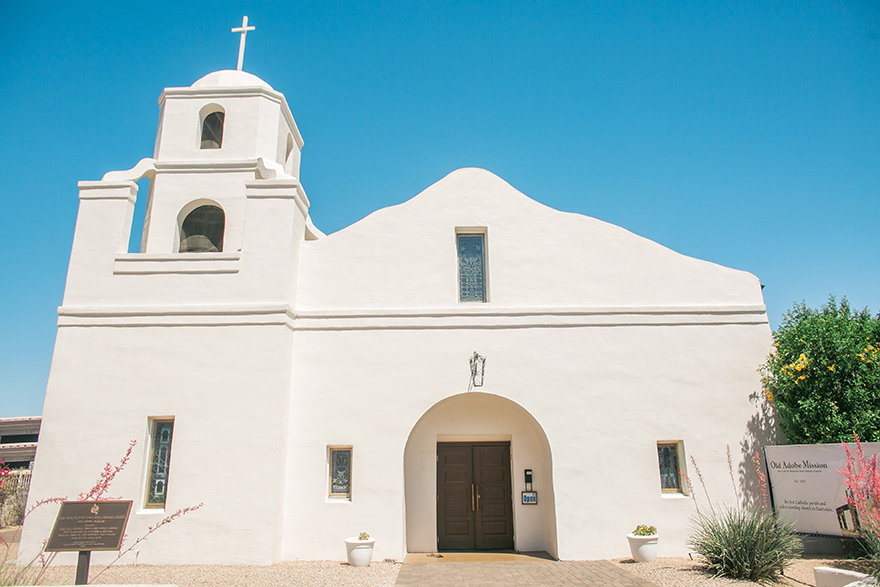 Old Adobe Mission in Scottsdale