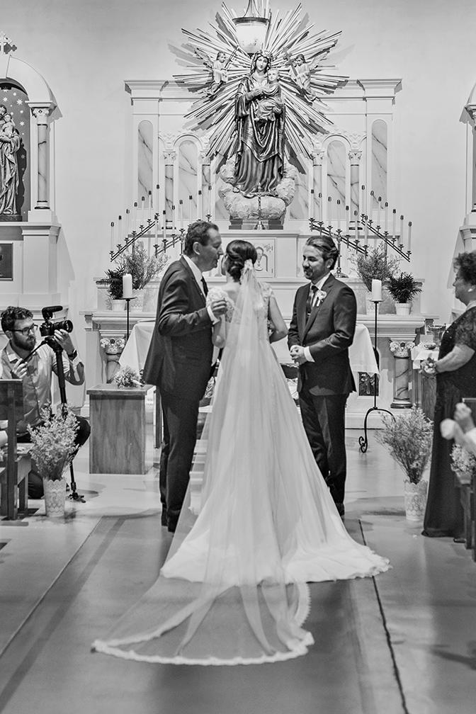 wedding at Old Adobe Mission in Scottsdale