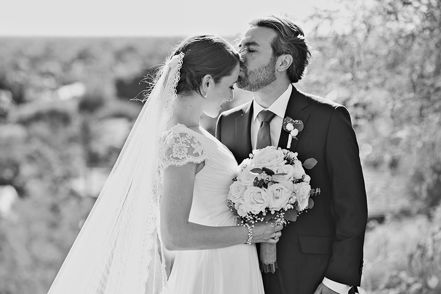 sweet bride & groom in Phoenix