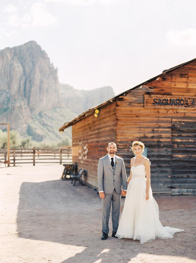 wedding at Saguaro Lake Ranch
