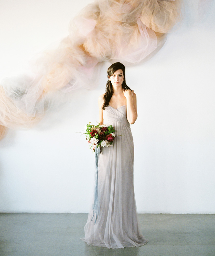 tulle bridesmaid dress by Jenny Yoo