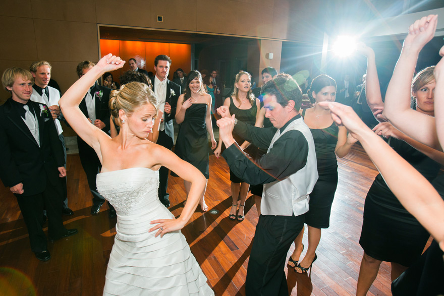 Flash photography for wedding receptions