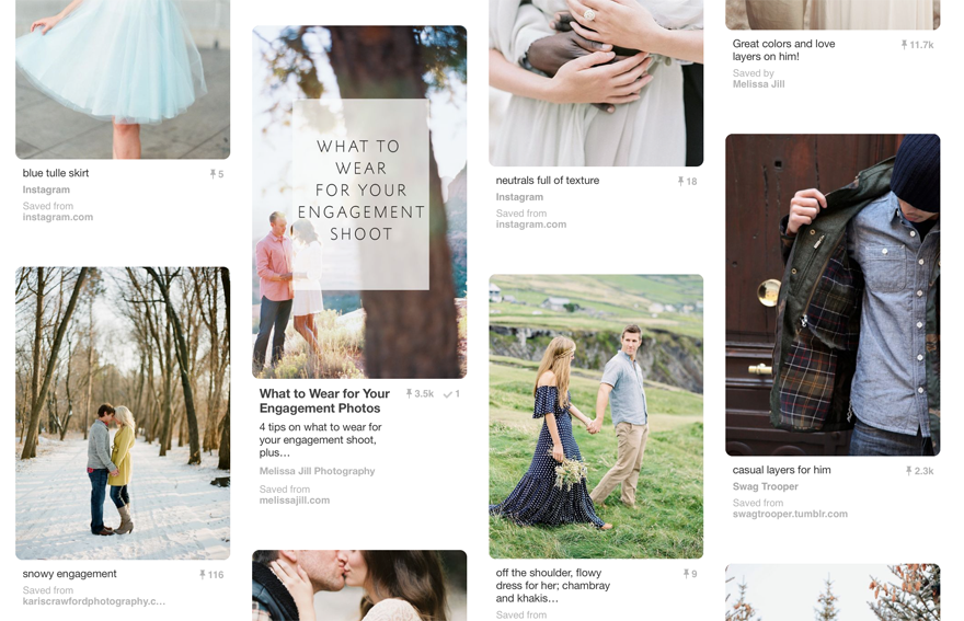creating hidden images within blog posts that are optimized for Pinterest