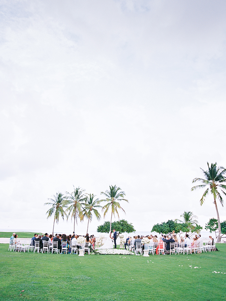 tropical beach wedding in Punta Cana, Dominican Republic
