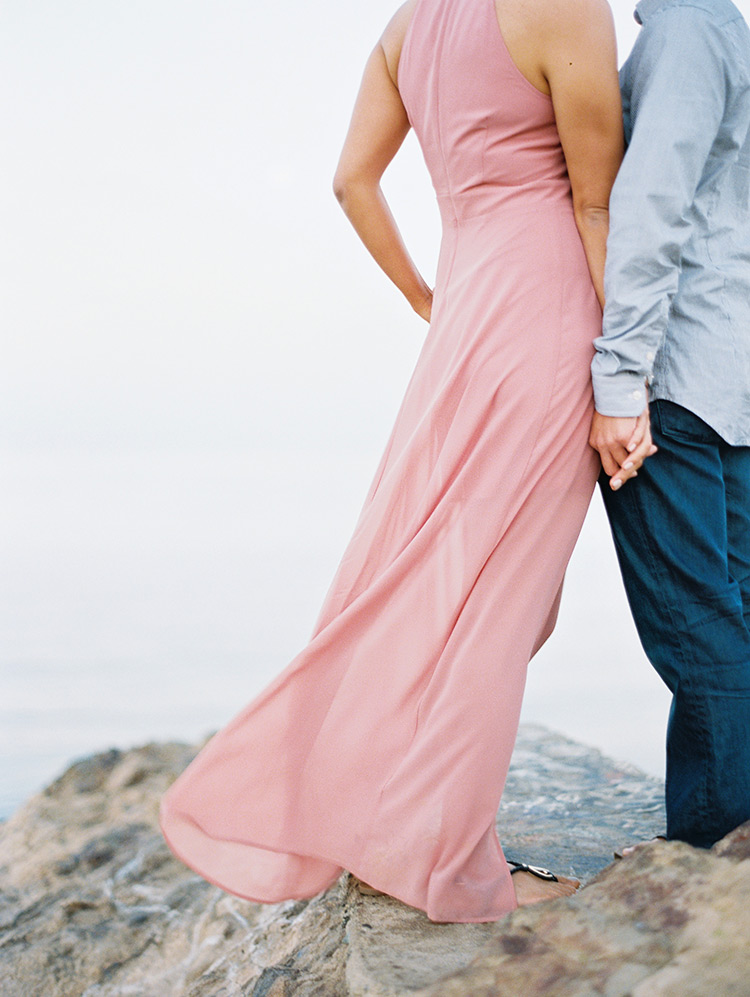Point Dume Malibu engagement session