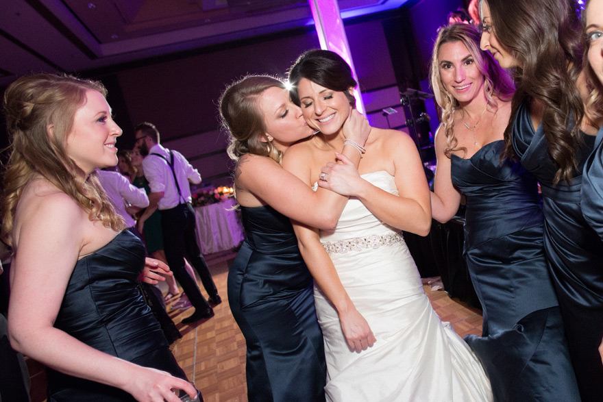 tip for using flash compensation to improve your wedding dance images