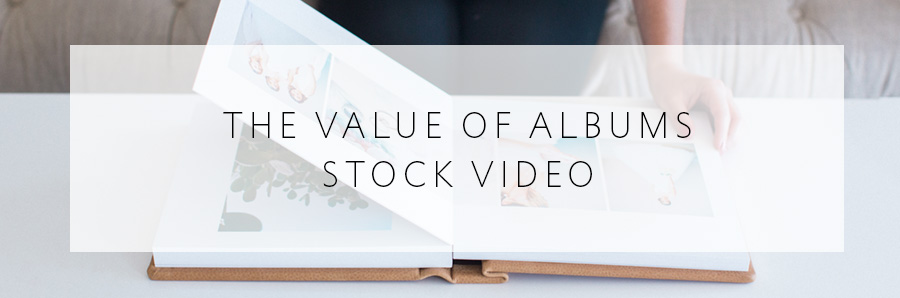 The Value of Albums stock video