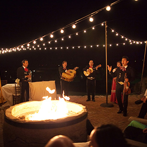 Behind the Image: Fire Pit Mariachi