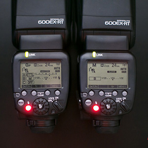 Canon 600EX-RT set up