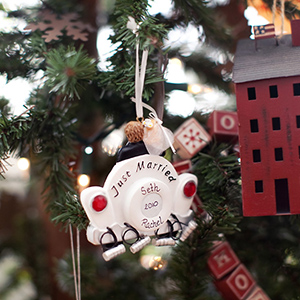 1st Christmas Married Ornament!