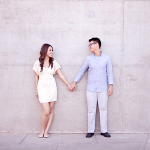 Associate Engagement Shoot -- Downtown Phoenix