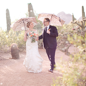Sean & Tiffany - Desert Botanical Gardens