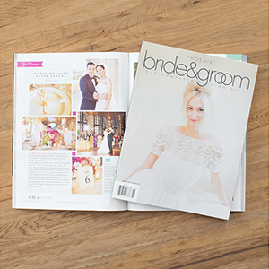 Featured in Phoenix Bride & Groom Magazine
