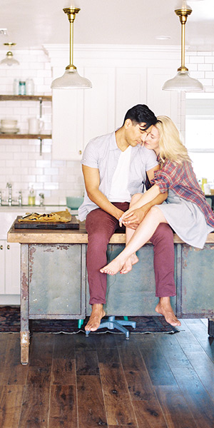 Kitchen Engagement Shoot