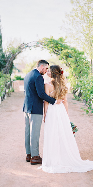 Vineyard Wedding Inspiration at Agritopia