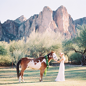 Desert Ranch Wedding Editorial
