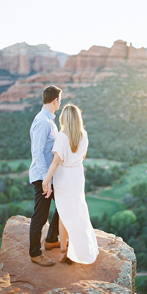 Sedona Engagement Shoot at Rachel's Knoll
