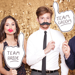 Want a fun reception? Rent this Phoenix Photo Booth!