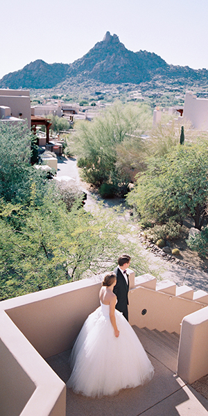 Sunset Wedding at the Four Seasons Scottsdale
