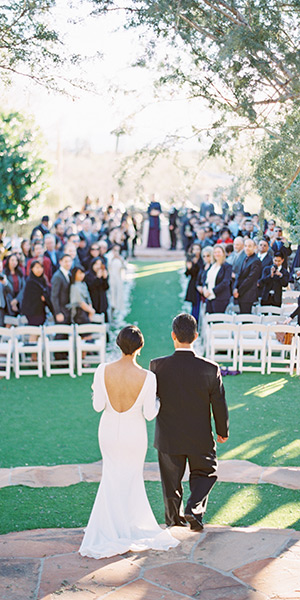 Elegant wedding at Sassi Scottsdale