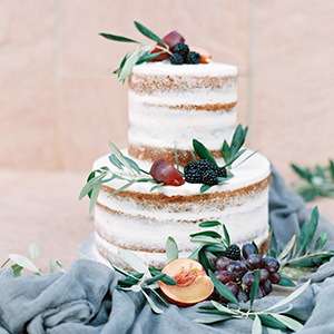 Vineyard Wedding Inspiration featured on Ruffled