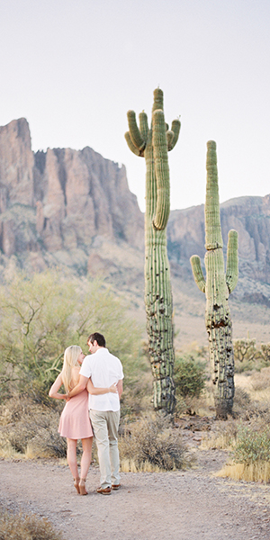 Lost Dutchman State Park Engagement Shoot