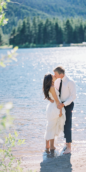 Colorado Lakeside Wedding Editorial