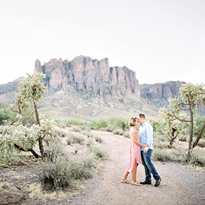 Lost Dutchman State Park Engagement Session