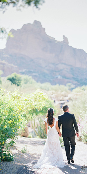 Romantic Blush Wedding at Sanctuary on Camelback