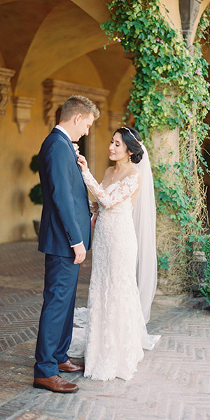 Dreamy Villa Siena Wedding