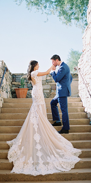 Elegant wedding at The Country Club at DC Ranch