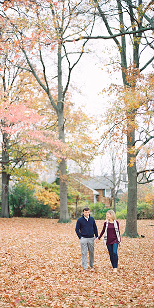 Fall Portraits in Rye, New York