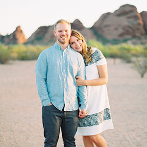 Papago Park Engagement Shoot