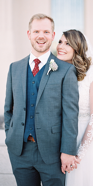 Lacey & Talan's Wedding Featured on Ruffled!