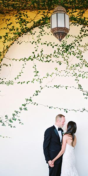 Sunset Wedding at Scottsdale Montelucia