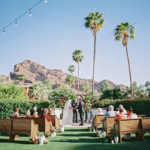Intimate Wedding at the Omni Montelucia