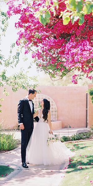 Long-awaited Royal Palms Wedding