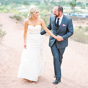 Ben & Ashley's Phoenix Backyard Wedding