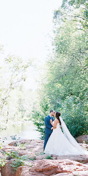 L'Auberge de Sedona Fall Wedding